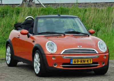 Occasion fotografie Plus – Mini Cooper Cabrio