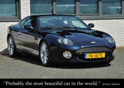 Occasion Fotografie Premium: Aston Martin DB7 Vantage