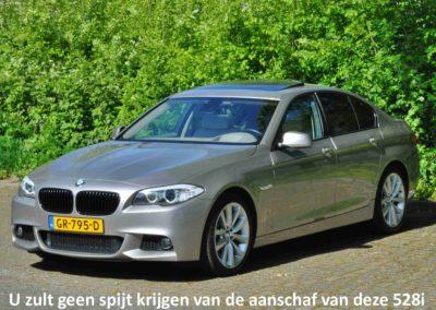 Occasion Fotografie Premium – BMW 528i