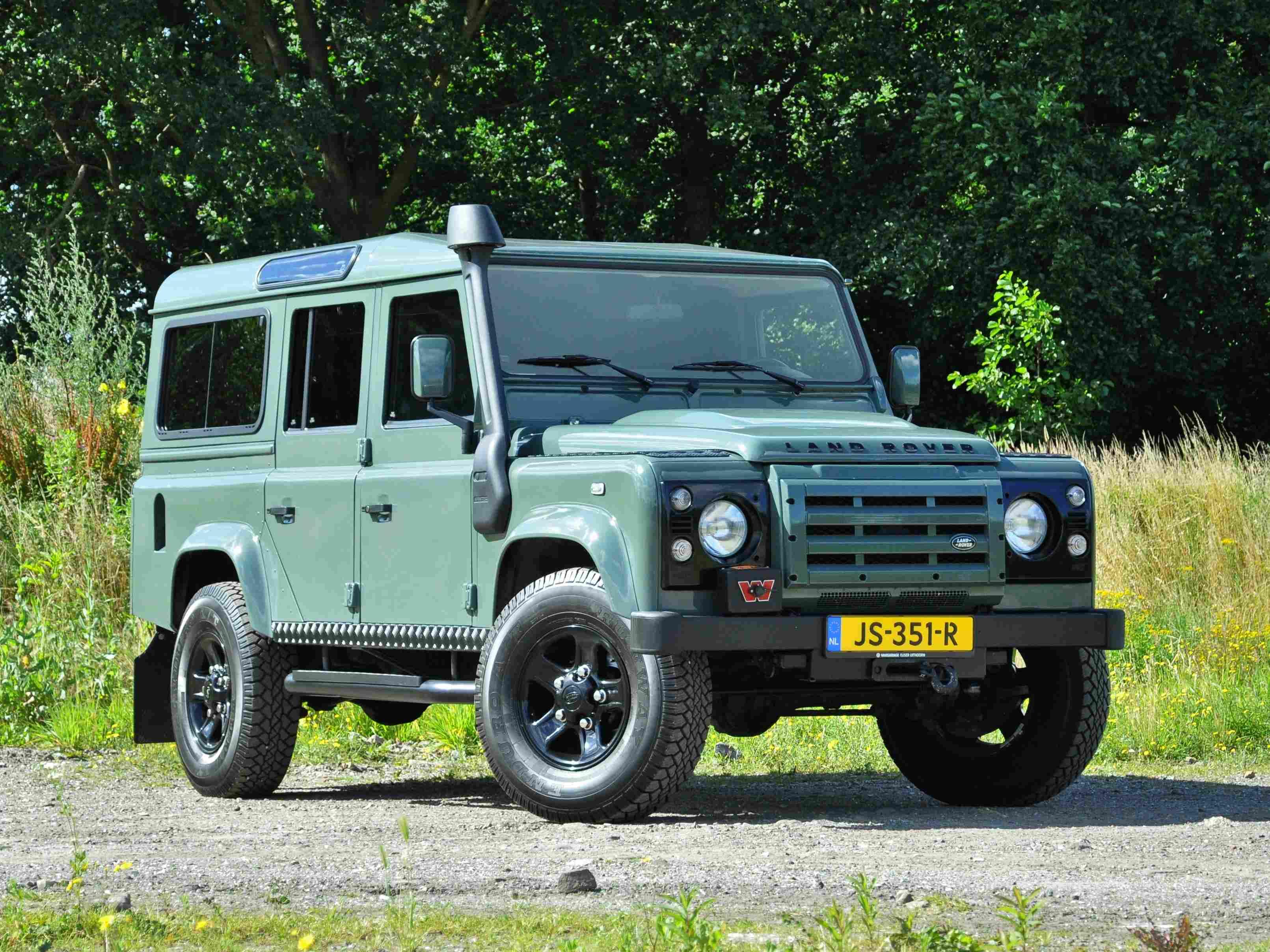 terreinwagen fotografie Land Rover Defender